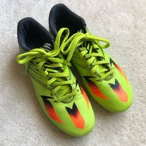 Adidas Messi Soccer Outdoor Cleats Size 8